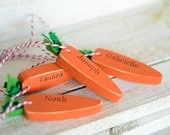 Wooden Easter carrot, Carrot, Easter Bunny wooden carrot, Easter gift, egg hunt prize, personalised Easter gift