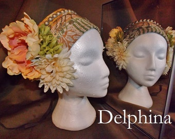 ATS Tribal Fusion Belly Dance Headpiece, Delphina