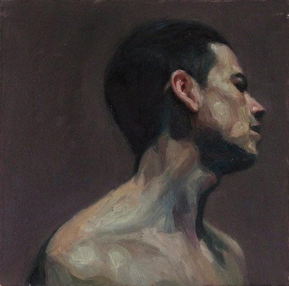 Canon (Thirty-Eighth), 7x7in Oil Painting