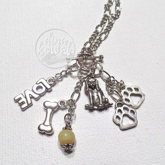 Charm Necklace - Dog Lover