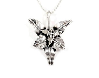 Sterling Blossom Jewelry For Women, Handmade Jewelry Blossom Necklace, Robin Wade Jewelry, Angel Bree Is Blossoming Jewelry Pendant, 2293