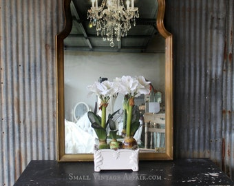 G O L D, Leaner Hollywood Mirror Dressing Mirror Moroccan style