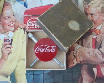 Vintage Coca Cola 4 Way Tool Vintage Coca Cola Screwdriver Vintage Coca Cola Advertising Vintage Coca Cola