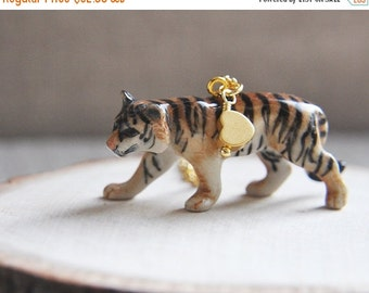 Sale, Tiger Necklace, Jungle Necklace, Wilderness Necklace, Animal Necklace, Courage Necklace, Spirit Animal Necklace, Bengal Tiger, Cat Nec