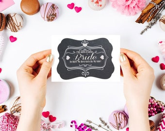 Thank you for being my Bridesmaid, Maid, Matron of Honor, etc Card