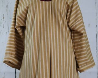 Ladies Shortgown, 40-42 bust,  ready to ship, colonial, pirate, renaissance