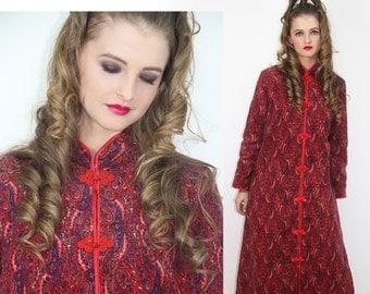 70's Paisley Gypsy Coat Vintage Boho Hippie // Vintage Clothing by TatiTatiVintage on Etsy