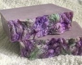 True Lilac Fragrance Goat's Milk Soap - Handcrafted - Uplifting - Very GENTLE, Contains NO Coconut Oil