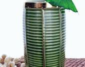 Vintage Tiki Mug Trader Vics Green Starboard Light Drink Glass 1979 Bar Restaurant Ceramic Pottery Cocktail Vessel