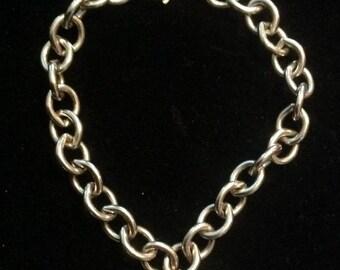 Vintage Sterling Labrador Retriever Dog Charm Bracelet