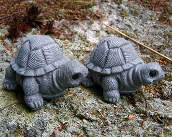 Turtles Cast In Concrete, Turtle Figures, Garden Turtles and Tortoises