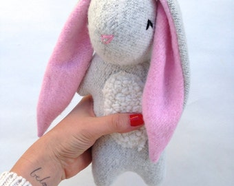 Blythe the Rabbit, stuffed toy bunny, rabbit, plush bunny toy, stuffed rabbit, organic toy, stuffed rabbit, organic rabbit, organic, bunny