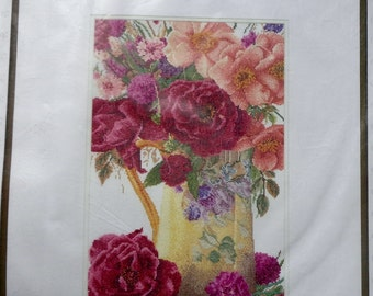 Thea Gouverneur | Counted Cross Stitch Kit | Rozenboeket | Rose Bouquet