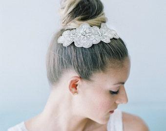 wedding headpiece -Blossom Bridal hair Comb - Hp16002