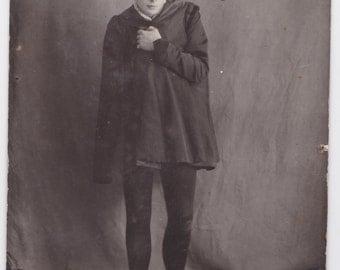 Antique Russian Photo Postcard -- Actor V. Maksimov -- 1900s. Condition 9/10