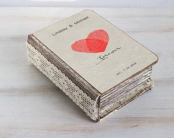 Wedding ring box, Heart ring box, Ring bearer box, Personalized wedding box, Ring bearer pillow Engagement box Custom ring box Ring Holder