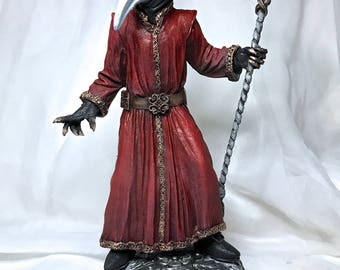 Venetian Plague Doctor Statue, Full Color