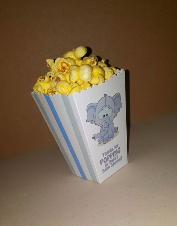baby shower popcorn boxes baby shower snack boxes mini favor boxes