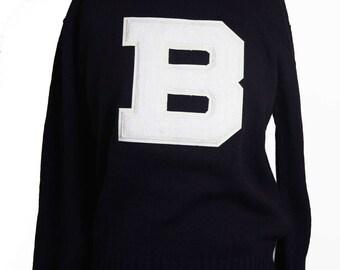1960s Letterman Sweater