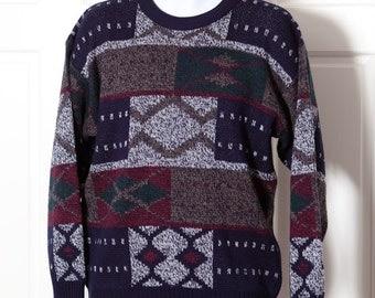 Vintage 80s 90s Men's Sweater - STEFANO MAN - M
