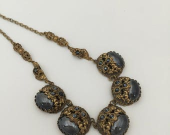 Beautiful early 1950's West German Necklace