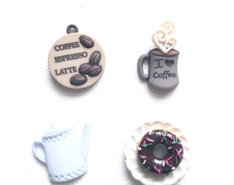 Coffee Magnets, Coffee Lover's Magnets, Java, Joe, Office and Kitchen Decor