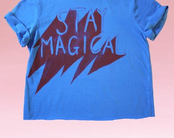 HANDPAINTED Stay Magical Tee