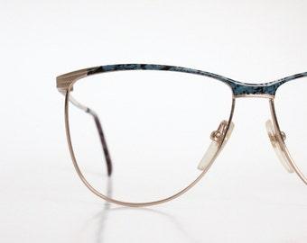 Vintage Pierre Cardin Slate Marble Eyeglasses Frames