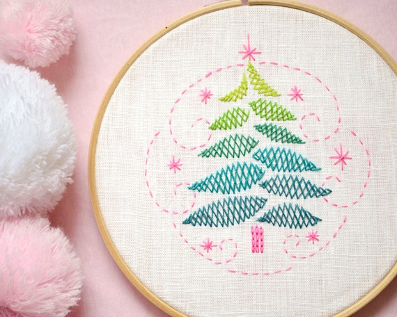 Hand Embroidery Patterns Christmas Hand Embroidery Christmas