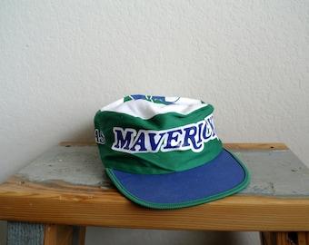 Vintage Dallas Mavericks Hat - Painters Hat Style - 90s Mavericks Hat - NBA Hat - Mens Hat - Womens Hat - 90s Hat - Cowboy Hat Mavs
