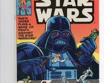 """Marvel Star Wars Comic #35 """"Dark Lord's Gambit"""" - 1980 Star Wars Comics"""