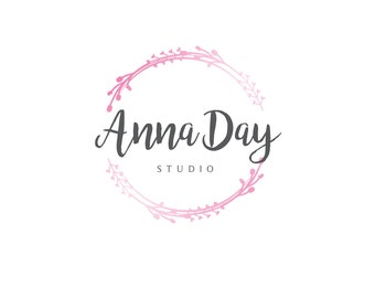 Premade Logo, Graphic Design, Feminine Business Logo, Photography Studio Logo