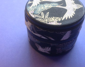 Trinket Box with Chiyogami Paper