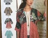 UNCUT Simplicity 8172 Short and Long Kimono Sewing Pattern XXS-XXL