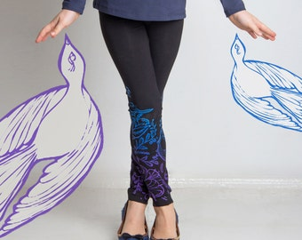 Sea Bird - children leggings