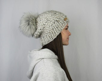 FLASH SALE The Whitaker Beanie in Aspen Tweed by Morthunder