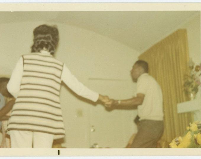 Vintage Snapshot Photo: Dancers, c1960s-70s (612535)