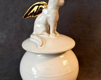 Cat Urn -  seated or reclining
