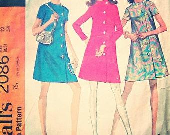 McCall's 2086 dress pattern
