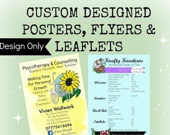 Custom Poster or Flyer Design