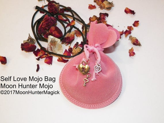 Self Love & Confidence Mojo Bag Moon Hunter Mojo Hand Made