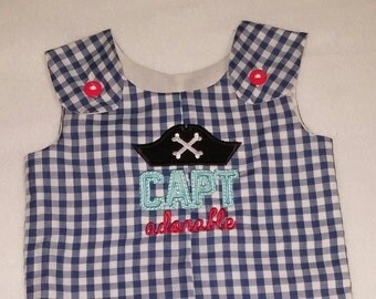 Boys Captain Adorable Shortalls or Longalls - Buy 3 or more get 10% off...