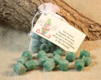 Elf Poop Candle Tarts, Holiday Tarts For Naughty List, Elf Poop Poem, Holiday Gag Gift, Great Stocking Stuffer