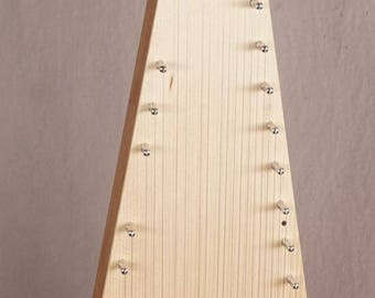 James Jones Two Octave Soprano Bowed Psaltery with case (all solid wood)