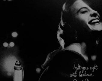 YARDLEY BOND STREET Original Vintage Beauty Ad Perfume Cologne Fragrance Additional Ads Ship Free Ready To Frame