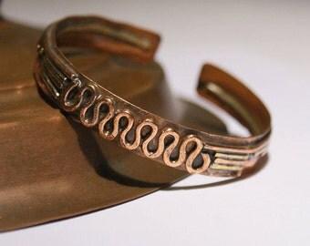 men's cuff bracelet, wire wrapped jewelry handmade, copper jewelry, men's bracelet, jewelry handmade, copper bracelet