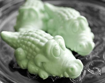 Alligator Soap / Crocodile Soap / Party Favor - Choose from 2 Designs