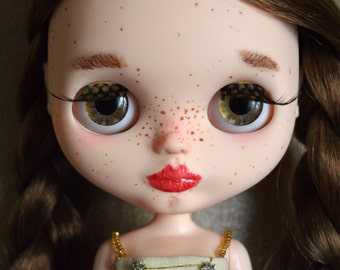 Custom blythe doll, art doll, Circus girl