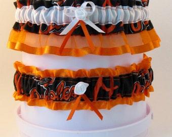 Orioles Wedding Garter Set