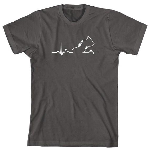 Runner Heart Shirt - motivation, inspiration, gym, workout, weight loss, gift idea- ID: 1898